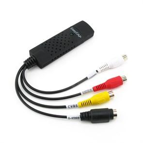 Плата видеозахвата EasyCAP UTV 007 chip, Win7/8 32/64bit (USB 2.0)