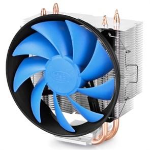 Кулер для S.1366/115X/775/AMD Deepcool GAMMAXX 300 (TDP 130W, heatpipe, Al+Cu, 120mm, PWM)