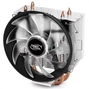 Кулер для S.1366/115X/775/AMD Deepcool GAMMAXX 300 R (TDP 130W, heatpipe, Al+Cu, 120mm, PWM, Red LED)