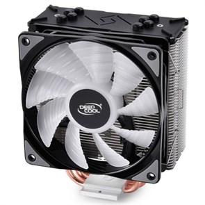 Кулер для S.20XX/1366/115X/775/AMD Deepcool GAMMAXX GTE (TDP 150W, heatpipe, Al+Cu, PWM, RGB)