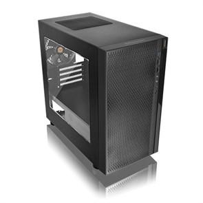 mATX Thermaltake Versa H18 (CA-1J4-00S1WN-00), с окном, без блока питания