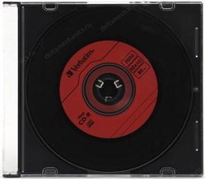 CD-R 700Mb 80min Verbatim 52x Music Vinyl, DL+, для аудио, slim