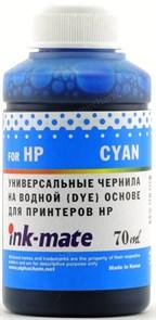 Чернила для HP 121/122/123/178/650/652/655/920 Cyan (70мл) Ink-Mate HIMB-UC