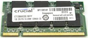 SO-DIMM DDR 1GB PC2700 DDR333 200pins Crucial (CT12864X335) CL2.5