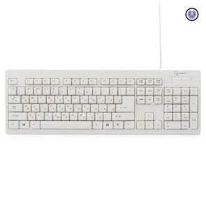 Клавиатура Gembird KB-8300-R, PS/2