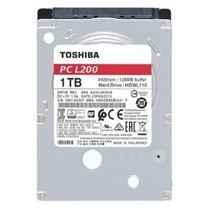 """2.5"""" SATA 1 ТB Toshiba L200 (HDWL110UZSVA), SATA-3 6Gb/s, 5400rpm, 128MB, 7мм"""