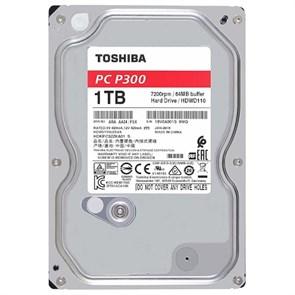 SATA 1.0 TB Toshiba P300 (HDWD110UZSVA), SATA-3 6Gb/s, 7200rpm, 64MB