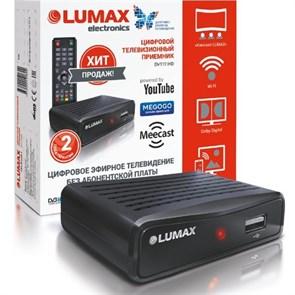 Ресивер цифрового телевидения LUMAX DV-1111HD (DVB-T2/C, HDMI, RCA, USB/опц.Wi-Fi/3G)