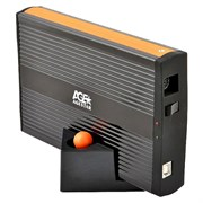 "Внешний корпус для 3.5"" HDD Agestar IUB3A для IDE HDD 3.5"", металл., USB 2.0"