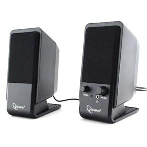 Gembird SPK-510, черные, 2х3 Вт, USB-питание