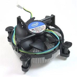 Кулер для S.1156/1155 Intel original (Low Profile, Al, PWM) (E97379)
