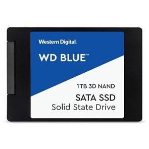 """SSD 2.5"""" SATA 6Gb/s 1 TB WD Blue Client SSD (WDS100T2B0A) TLC, 400TBW"""