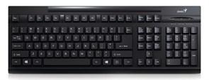 Клавиатура Genius KB-125, черная, USB