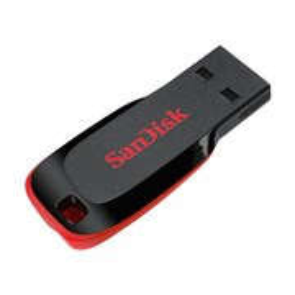 USB 2.0 Flash Drive 128GB Sandisk Cruzer Blade (SDCZ50-128G-B35)