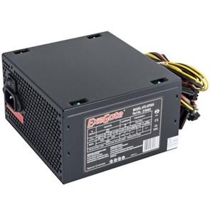 Блок питания ATX 500W ExeGate (ATX-XP500), чёрный, 12V@17A+17A, 12cm fan, 6+2 pin PCI-E (EX219463RUS)