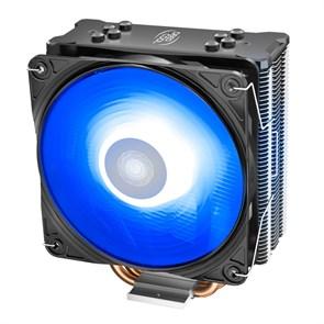Кулер для S.20XX/1366/1200/115X/775/AMD/AM4 Deepcool GAMMAXX GTE V2 (TDP 180W, heatpipe, Al+Cu, 120mm PWM, RGB)