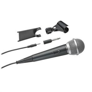 Микрофон динамический Audio-Technica ATR1200 чёрный, 80Гц-12кГц, 500Ом, -59 дБ, кабель 5м