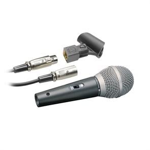 Микрофон динамический Audio-Technica ATR1500 чёрный, 60Гц-15кГц, 500Ом, -57 дБ, кабель 5м