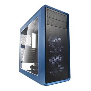 "ATX Fractal Design Focus G Petrol Blue (с окном, 2x5.25"", 2LED[+1+2+1]x120mm, 1xUSB 3.0, 1xUSB 2.0,  видео <380мм, CPU <165мм)"