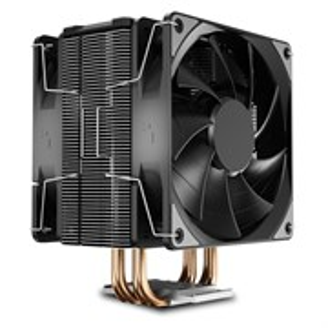 Кулер для S.1366/115X/775/AMD Deepcool GAMMAXX 400 EX (TDP 180W, heatpipe, Al+Cu, 2x120mm, PWM, 930г)