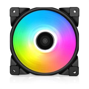 Вентилятор PCCooler HALO RGB 120x120x25мм, 1000-2000rpm, hydro, PWM, RGB