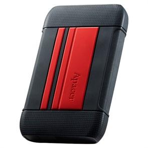 """USB 3.0 HDD 2.5"""" 2 TB Apacer AC633 Red (AP2TBAC633R-1) ударопрочный"""