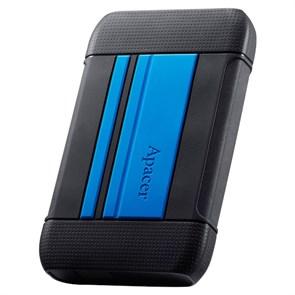 """USB 3.0 HDD 2.5"""" 1 TB Apacer AC633 Blue (AP1TBAC633U-1) ударопрочный"""
