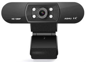 ASHU H800 (Full HD 1080p, 1920x1080@25 кадров/с, микрофон, подсветка, USB 2.0)