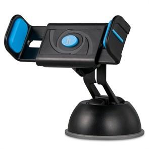 Держатель универсальный в авто Hoco CPH17, на стекло, черно-синий