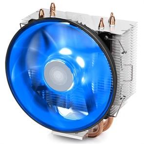 Кулер для S.1366/115X/775/AMD Deepcool GAMMAXX 300 B (TDP 130W, heatpipe, Al+Cu, 120mm, PWM, Blue LED)