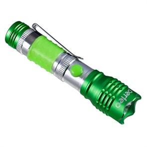 Фонарь PERFEO LT-015 90lm, 1LED, 3xAAA, зеленый