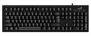 Клавиатура Genius Smart KB-101, Black, 105кл., SmartGenius, USB