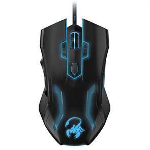 Мышь Genius Scorpion Spear Pro Optical Black, 3200dpi, 8кн., подсветка, USB
