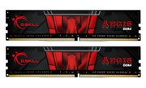 DIMM DDR-4 16GB PC4-24000 DDR4-3000 G.SKILL AEGIS (2x8GB kit) CL16 1.35V (F4-3000C16D-16GISB)