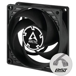 Вентилятор ARCTIC P8 PWM PST 80x80x25мм, черный