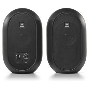 """Студийные мониторы JBL One Series 104-BT чёрные (Bluetooth, 4.5""""+.75"""", 2x30W, 88Гц-20кГц (-3 dB SPL))"""