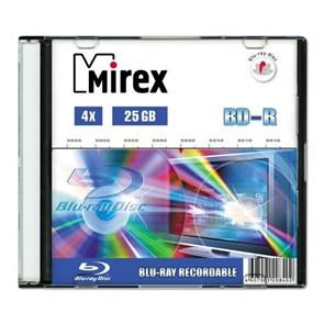 BD-R 25GB Mirex 4x, slim