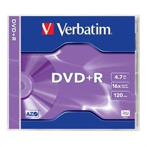 DVD+R 4.7GB Verbatim 16x, jewel (43496)