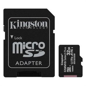 microSD Memory Card SDHC 32GB Class10 UHS-I U1 Kingston Canvas Select Plus 100MB/s (SDCS2/32GB)
