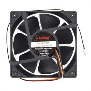 Вентилятор Gembird 120x120x38мм, 3-pin, 2 ball bering, 96.5 CFM, 38.65 дБ, 40см (D12038BM-3)