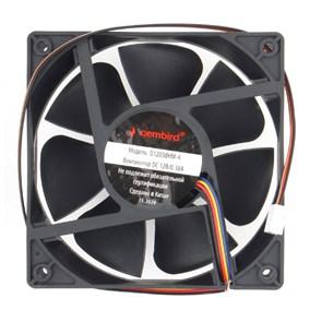 Вентилятор Gembird 120x120x38мм, PWM, гидродинамический, 40см (D12038HM-4)