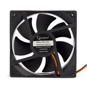 Вентилятор Gembird 90x90x25мм, 3-pin / 4-pin Molex, гидродинамический, 30см (S9225H-3P4M)