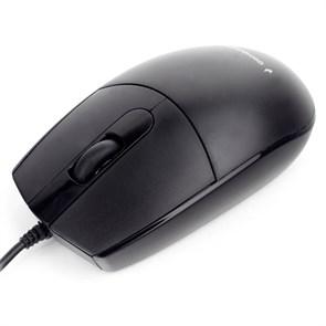 Мышь Gembird MOP-420, чёрный, USB, 1000dpi, 1.8м