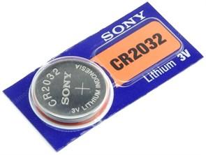 CR2032 Sony (Li, 3V) 1шт.