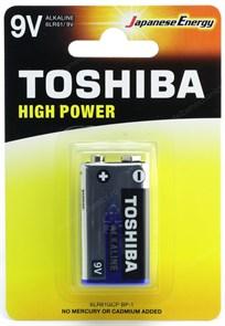 """Крона"" (6LR61) Toshiba, 9V, alkaline"