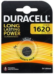 CR1620 Duracell (Li, 3V) 1шт.
