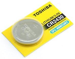 CR2430 (Li, 3V) Toshiba 1шт.