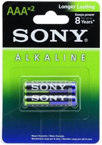 AAA (LR03) Sony, 1.5V, alkaline, упаковка 2шт.