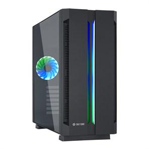 ATX Chieftec CHIEFTRONIC G1 GR-01B-OP (закаленное стекло, 1ARGB[6]120-140mm, 2xUSB 3.0, 1xUSB 2.0, видео <400мм, CPU <160мм)