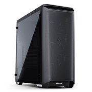ATX Phanteks Eclipse P400A Black (закаленное стекло, 3xARGB[6x120-140], 2xUSB 3.0, видео <420мм, CPU <160мм)